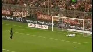 Manchester United V Bayern Munich 30.07.09 Penalty Shoot Out