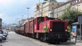 HŽ goods train at Rijeka Port, Croatia