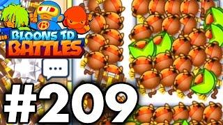 UNLIMITED Dart Monkeys..!! | Bloons TD Battles Gameplay / Walkthrough | Bloons TD Battles Part 209