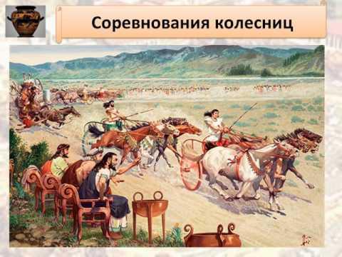 Презентация к уроку истории: Олимпийские игры в древности