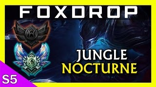 [S5] Unranked to Diamond - Nocturne Jungle // League of Legends