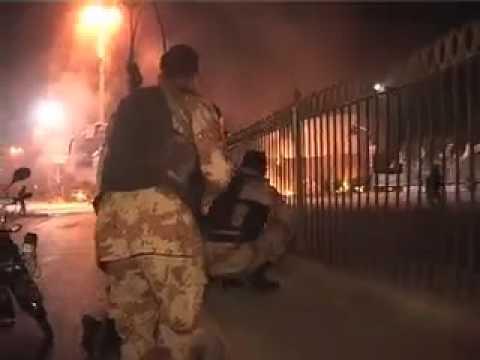 pakistan rangers attack on rizvia society,shia society