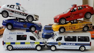 Police Cars for Kids Cars are diverse and colorful Video for Kids