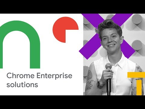 A Day in the Life of a Googler: Using Chrome Enterprise to Empower Your Workforce (Cloud Next '18)