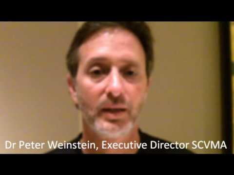 Dr Peter Weinstein SCVMA