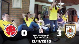 Reacciones Colombia 0 vs 3 Uruguay | Eliminatorias Qatar 2022