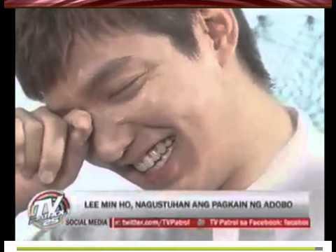 07.05.13 Lee Min Ho on TV PATROL
