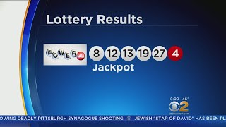 Winning Powerball Ticket Sold In New York