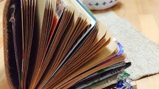 手作りトラベラーズノート part1 diy midori traveler s notebook