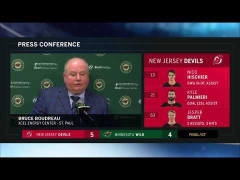Wild let lead slip away, fall to Devils 5-4 in OT   FOX Sports