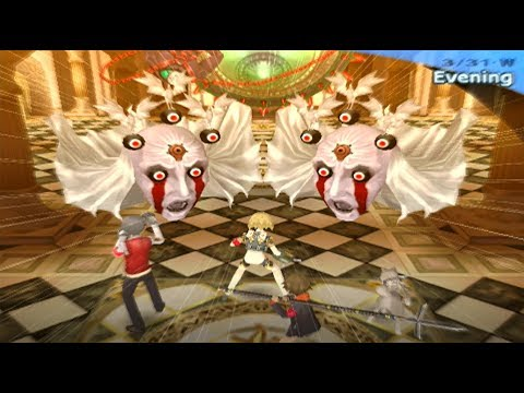Persona 3 Fes The Answer: Part 24 - Attack of the Kratos Heads