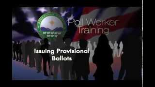 Issuing Provisional Ballots