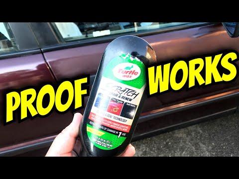 Turtle Wax Scratch Repair & Renew VS Sanded Panel & Water Test!