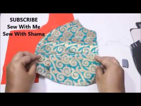 Katori Blouse Cutting and Stitching Step by Step Method ...