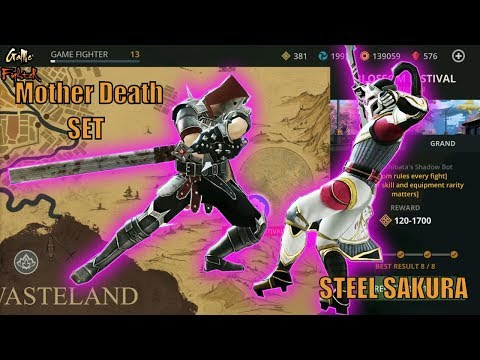 FULL SET Mother Death Defeat Steel Sakura | Battle Blossom Festival | Shadow Fight 3 Event √