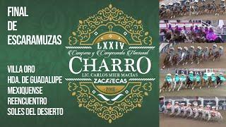 Gran Final de Escaramuzas 2018 | LXXIV Congreso y Campeonato Nacional Charro #Zacatecas2018