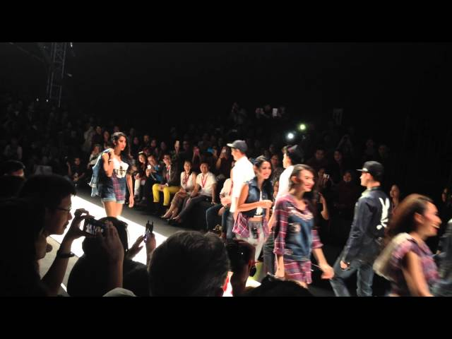Luna Maya and ARL for Hardware at Jakarta Fashion Week 2014 Travel Video