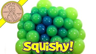 Super Squishy Blob Balls, Glow In The Dark!