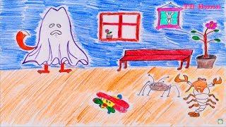 Мультик про привидение. Сказка о привидении для детей. Ghost story
