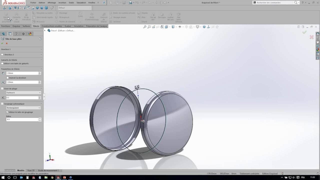 formation solidworks en ligne gratuite concevoir une cuve sur solidworks 1 youtube. Black Bedroom Furniture Sets. Home Design Ideas