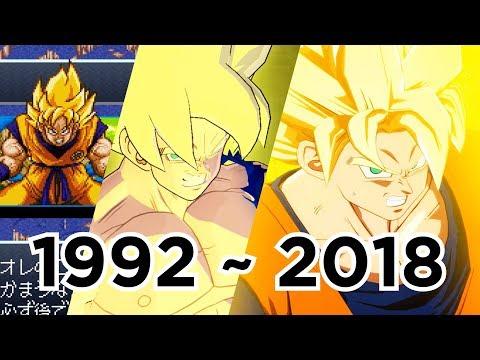 [Obsoleted] Evolution Of Son Goku's Super Saiyan Awakening; 26 Games (1992 To 2018)