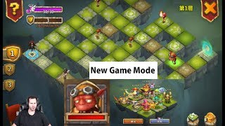 New Game Mode Labyrinth Beast Set Ups Castle Clash