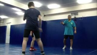 Вольная борьба. Молодые борцы по 11 лет с интересом занимаются. freestyle wrestling training  .