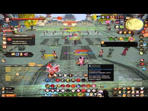 Age Of Wushu-Guild War Rvn( Rebellion) vs Deity Part 2 AWE with lv10 wildshot