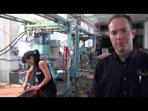 The Stringing of a Piano at Petrof Piano Factory