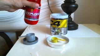 Top Rated Pre-Workouts - N.O. Xplode vs CELLUCOR C4