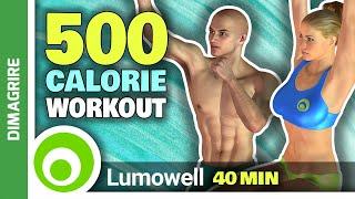40 Minuti Di Cardio Intenso Per Bruciare 500 Calorie A Casa