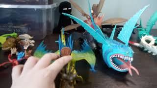 (обзор) моя коллекция драконов по как приручить дракона