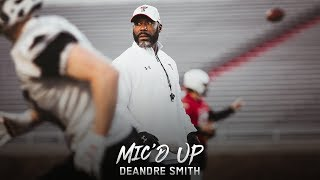 Texas Tech Football: Mic'd Up - Deandre Smith | 2019