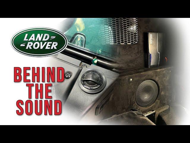 Full Sound Upgrade, Sub & CUSTOM Bulkhead   Behind The Sound: Defender 110 - Volume 2
