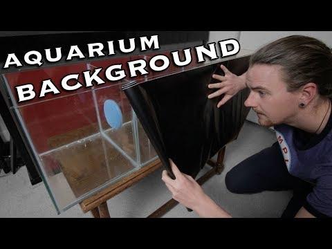 DIY Aquarium Background - Vinyl