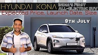 Hyundai Kona Price in India, Launch Date, Dimensions | First All Electric SUV of India in Hindi