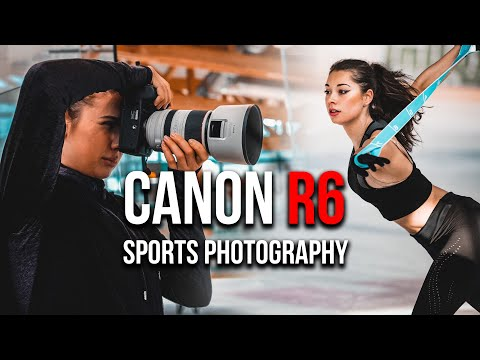 Canon EOS R6 for sports photography ft RF 70-200 2.8