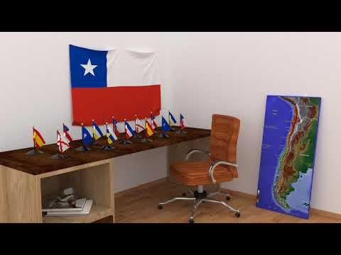 Himno y banderas de Chile | Chile flags and anthem