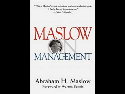 Maslow on Management Intro & Preface
