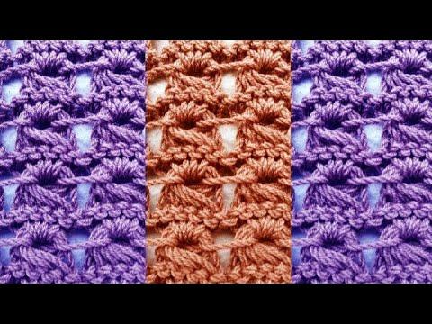 Вязание узора брумстик