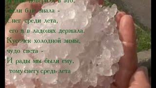 """""""Снег среди лета"""" (Шепилова Любовь) cover version"""