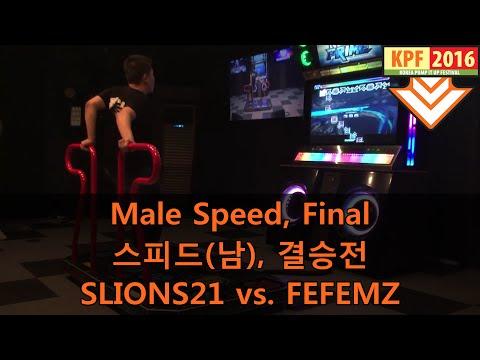 [KPF 2016] Male Speed, Final: SLIONS21 vs. FEFEMZ
