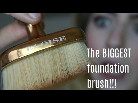 Testing the Teardrop Brush by Eloise Beauty! | Foundation, Contour, Highlight & More!