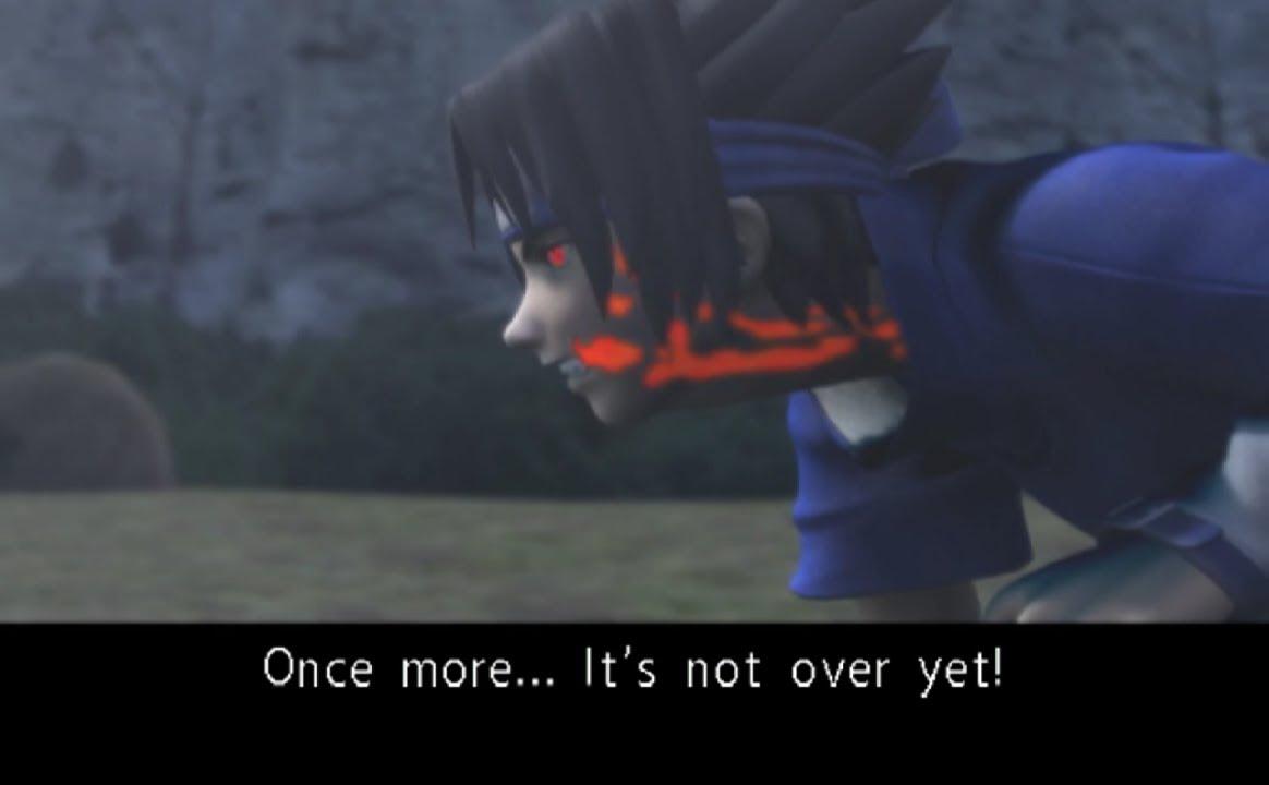 Naruto Different Curse Marks  PCSX2  Naruto Uzumaki