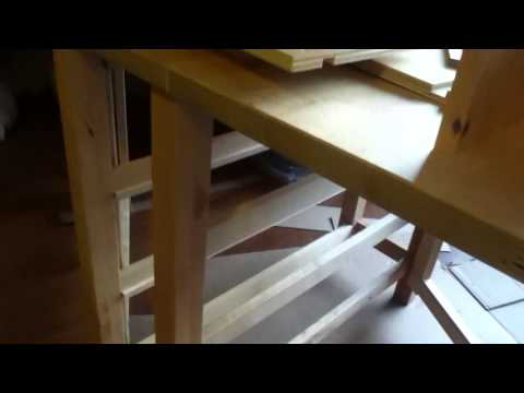 Ikea Norden table Assembly Tutorial