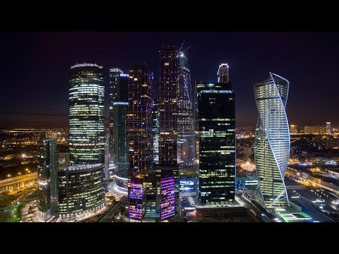 Modern Moscow. Europe's largest city