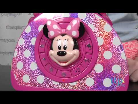 Minnie Mouse Bowtique Sing & Stroll Musical Purse from eKids