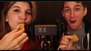 🍯 GF/BF Honeycomb ASMR 🍯 ~ INTENSE Eating Tingles, Crinkles + Close Up Whispers ~