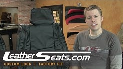 Jeep Grand Cherokee Laredo factory style leather interior upgrade package - LeatherSeats.com