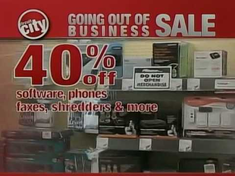 Circuit City Going Out Of Business Final Days Commercial